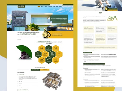 Nanofix website ux ui website designing web web design design