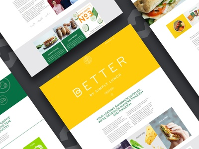 Simply Lunch ecommerce design ui mobile website website designing branding website web design web ux design