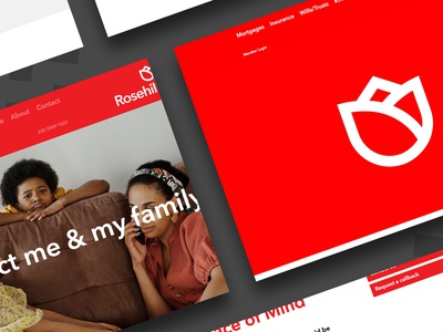 Mortgage Website mobile website web typography design branding website web ui property mortgage insurance web development website design mortgage