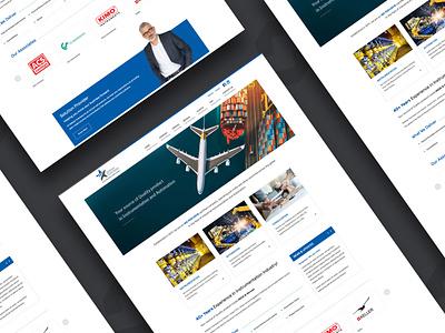 Dellstar Overseas logo website designing ui branding mobile website web design ux web design website design website