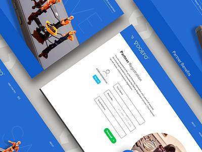 Mobile Platform application ui application website designing mobile website branding web design website ux web design