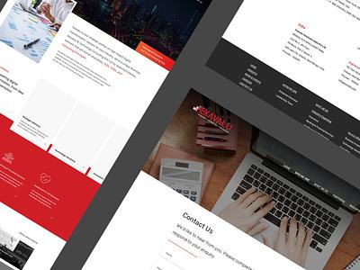 Exavalu ui website design website designing mobile website branding web design ux website web design