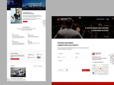 Insurance Forum mobile website design website designing mobile website branding web design ux web design website insurance forum