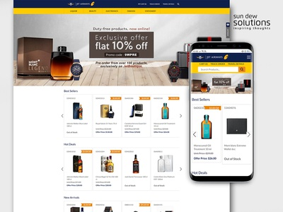 Duty Free E-Commerce ecommerce design ecommerce mobile mobile website website designing branding web ux web design website design dutyfree