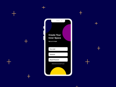 Create your inner space | Daily UI 1