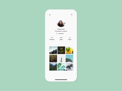 User Profile   Daily UI 006