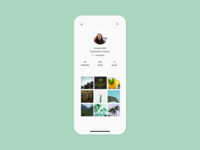 User Profile | Daily UI 006