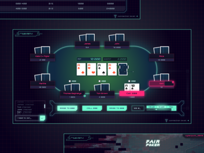 Fair Poker - game design
