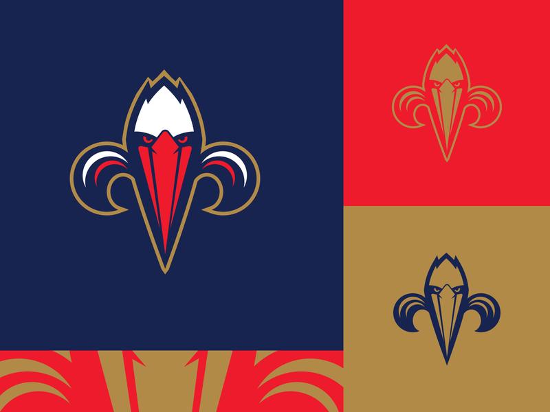 New Orleans Pelicans - Alternate Icon branding icon design nba logo basketball sports