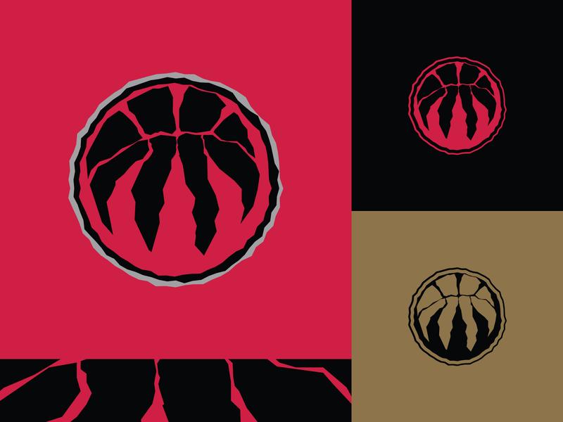 Toronto Raptors - Alternate Icon toronto raptors branding design nba logo basketball sports