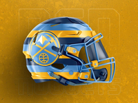 Denver Nuggets : Helmet Concept