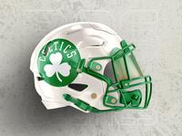 Boston Celtics : Helmet Concept