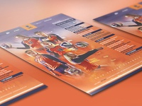 2018 Official UTEP Volleyball Schedule Poster