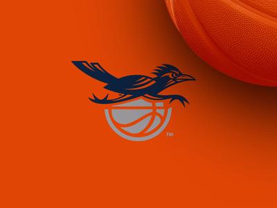 Rowdy Basketball : Logo Lockup