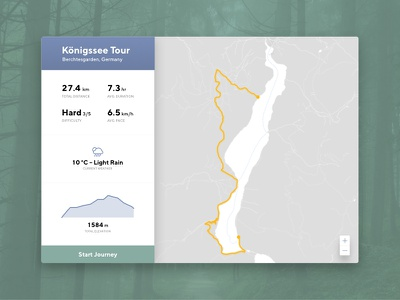 Daily UI #020 - Location Tracker maps app hiking tracker location 020 ui daily dailyui