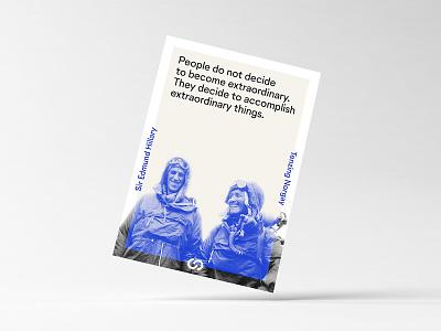 Extraordinary Poster sherpas geometric minimal print office poster