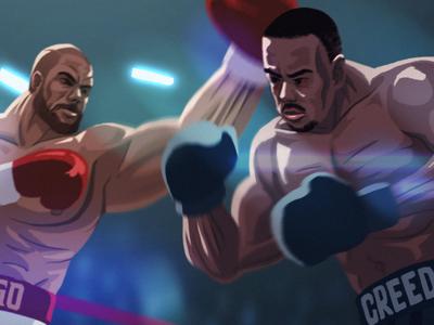 Creed vs Drago