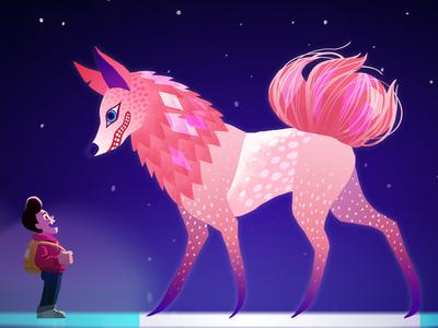 Alebrije Wolf Fox
