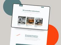 Interior design Website uichallenge architecture layout branding typography frankfurt design website