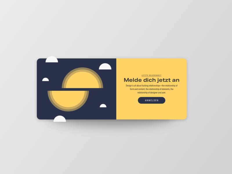 Pop-Up / Overlay - Sign In ecommerce overlay popup signup uichallenge website ui design card