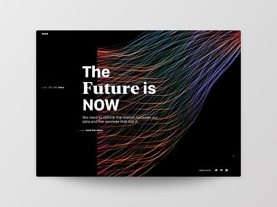 Article Page frankfurt layout typography uichallenge website ui opinion magazine technology tech data wire future article