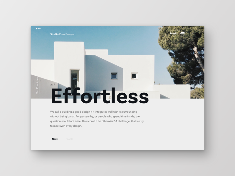 Architecture Studio by Fabian Rädecke on Dribbble