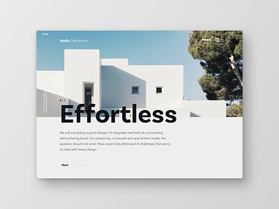 Architecture Studio web studio clean bauhaus architecture typography uichallenge frankfurt layout ui design website