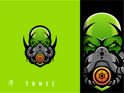 toxic logo inspirations graphic awesome design logoawesome logodesign gambardrips branding graphicdesign design vector illustration
