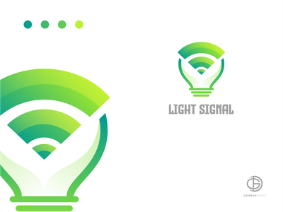 light signal logoawesome modaltampang logodesign awesome gambardrips branding graphicdesign design vector illustration