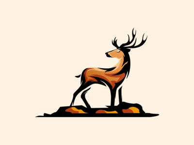 deer logo inspiration