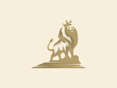 Lion vector logo design
