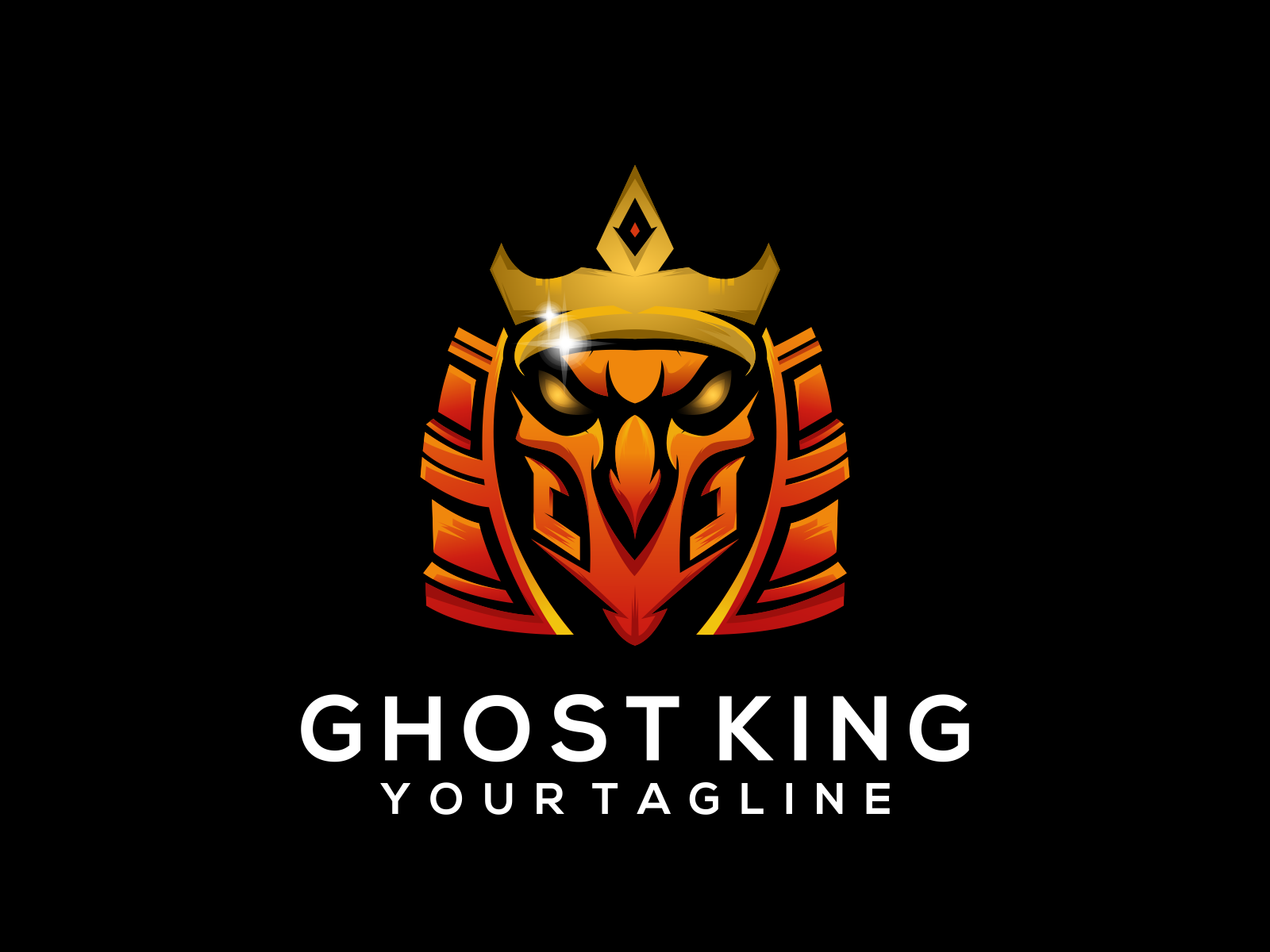 Ghost King By Gambar Drips On Dribbble