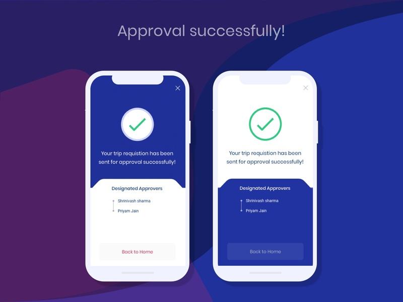 Approval successfully