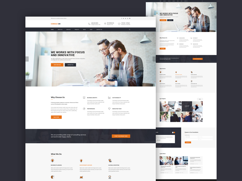 #03 Landing Page dailyui website template ui web