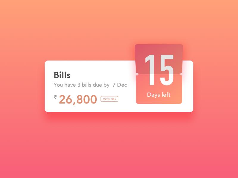 #14 Countdown Timer date timer countdown sketchapp ui dailyui