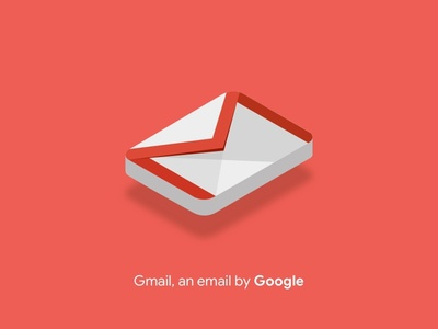 Isometric Gmail Icon