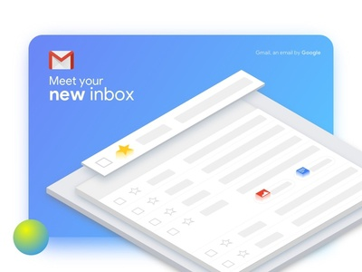 New Gmail UI gmail mail sketch icon isometric isometricicon