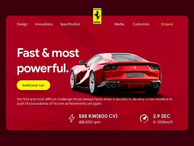 Landing Web Page dailychallenge design uidaily ui uitrends uidesignpatterns uidesign visualdesign interfacedesign sketch sketchapp dailyui