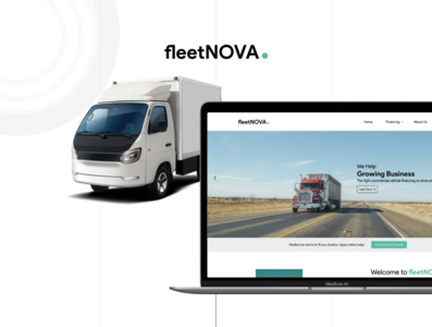 fleetNOVA adobe xd user interface interface design uiux ux ui web page design web page website design website