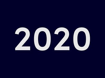 2020 - BeTomorrow design rewind. interaction illustration website ux ui animation design iphone 2021 branding interface app showreel motion design year in review