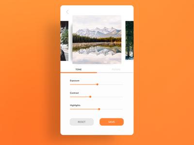 Daily UI 07 — Settings