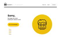 Daily UI 08 — 404 error