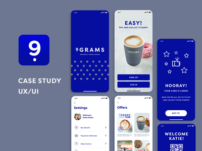 9 Grams Coffee Club - A coffee loyalty app concept