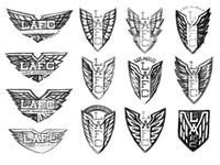 LAFC Crest Concept Sketches
