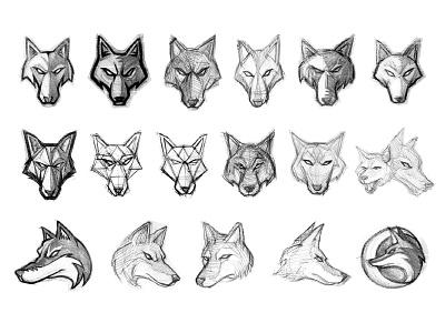 Arizona Coyotes Concept Sketches sketches coyote moon hockey sports logo nhl coyotes