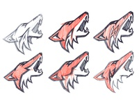 Arizona Coyotes Concept Sketches Primary