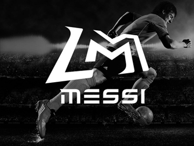 Lionel Leo Messi Logo Concept By Quentin Brehler On Dribbble