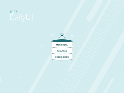 #027 Daily UI Challenge - Dropdown