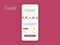 #032 Daily UI Challenge - Crowdfunding Campaign