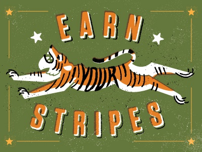 Earn yer stripes